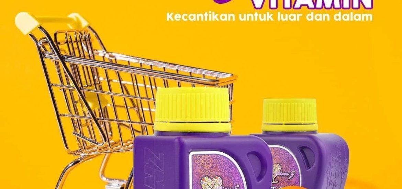 Dianz vitamin- pengalaman pengunaan & kebaikan vitamin C dan E, KOSMETIK CIDA