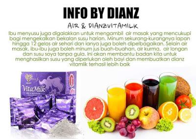 Dianz Vitamilk – MILK BOOSTER YG TERBAIK, KOSMETIK CIDA