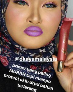 KELEBIHAN OKAYA PRODUCT: Okaya Foundation, Okaya Primer & Eyebrow Gel Okaya, KOSMETIK CIDA