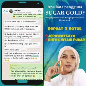 # 🙋♀️PENGUNAAN SUGAR GOLD MALAYSIA- LUXURY BEAUTY OIL, KOSMETIK CIDA