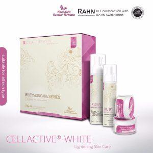 INFO: RUBY CELLACTIVE WHITE , ELYSIAN BOOSTER SERUM AND SET BASIC ELYSIAN, KOSMETIK CIDA