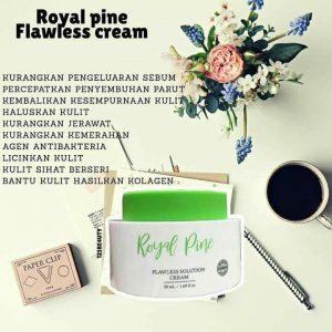 Royal Pine Moisturiser : ROYAL PINE FLAWLESS CREAM, KOSMETIK CIDA