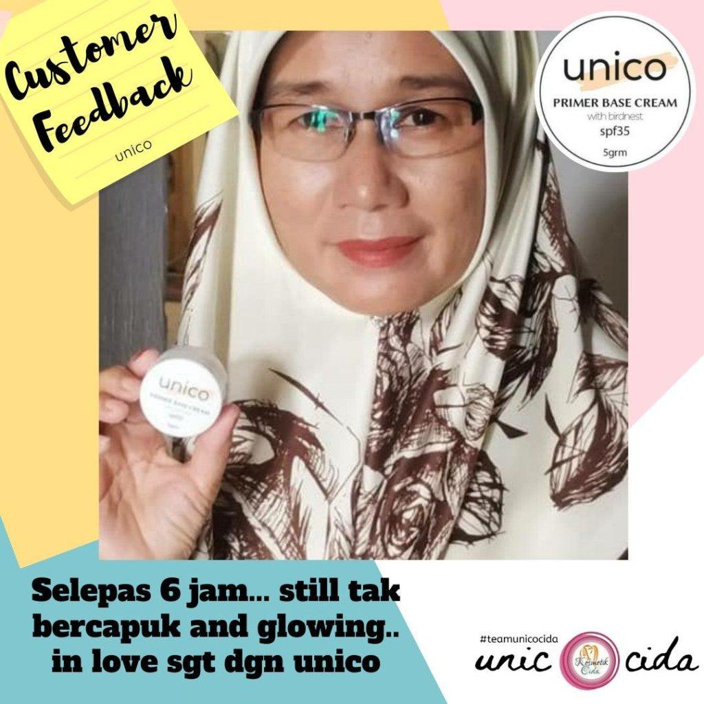 Info & Feedback : Unico Primer Base Cream, KOSMETIK CIDA