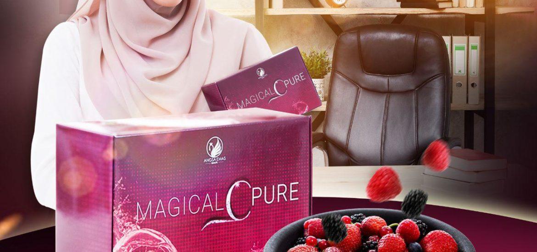 KEBAIKAN & FEEDBACK MAGICAL C PURE -MANFAAT Vitamin C SEBENAR, KOSMETIK CIDA