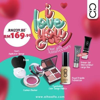 Promosi Anniversary Alha Alfa Cosmetics 𝗟𝗘𝗕𝗜𝗛 𝗝𝗜𝗠𝗔𝗧 | 𝗟𝗘𝗕𝗜𝗛 𝗕𝗘𝗥𝗕𝗔𝗟𝗢𝗜 | 𝗟𝗘𝗕𝗜𝗛 𝗠𝗘𝗡𝗔𝗥𝗜𝗞